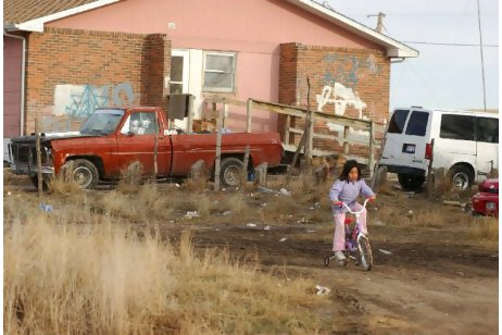 Silence About Conditions at Pine Ridge Reservation
